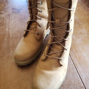 Timberland lace up boots